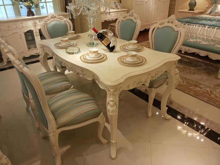 欧式餐桌 - 欧式 - 餐桌 - 欧式风格 - loft家居软装图片