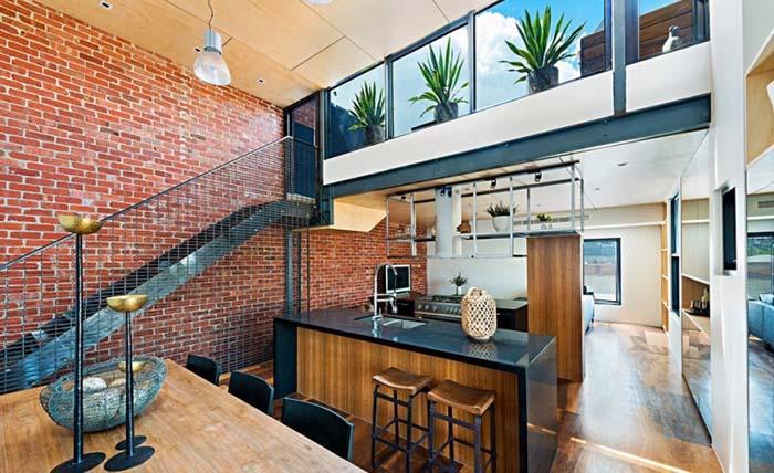 墨尔本loft风格公寓设计