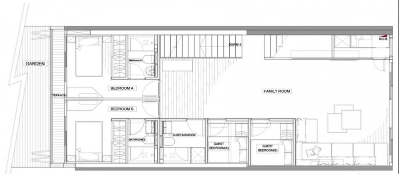 错层住宅空间设计